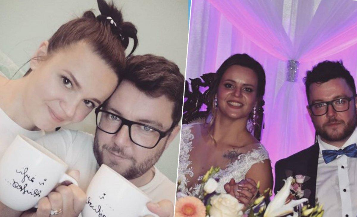 """Wojtek ze """"Ślubu..."""" pokazał żonę w zmienionej fryzurze: """"Agusia czasami wpada na różne pomysły"""""""