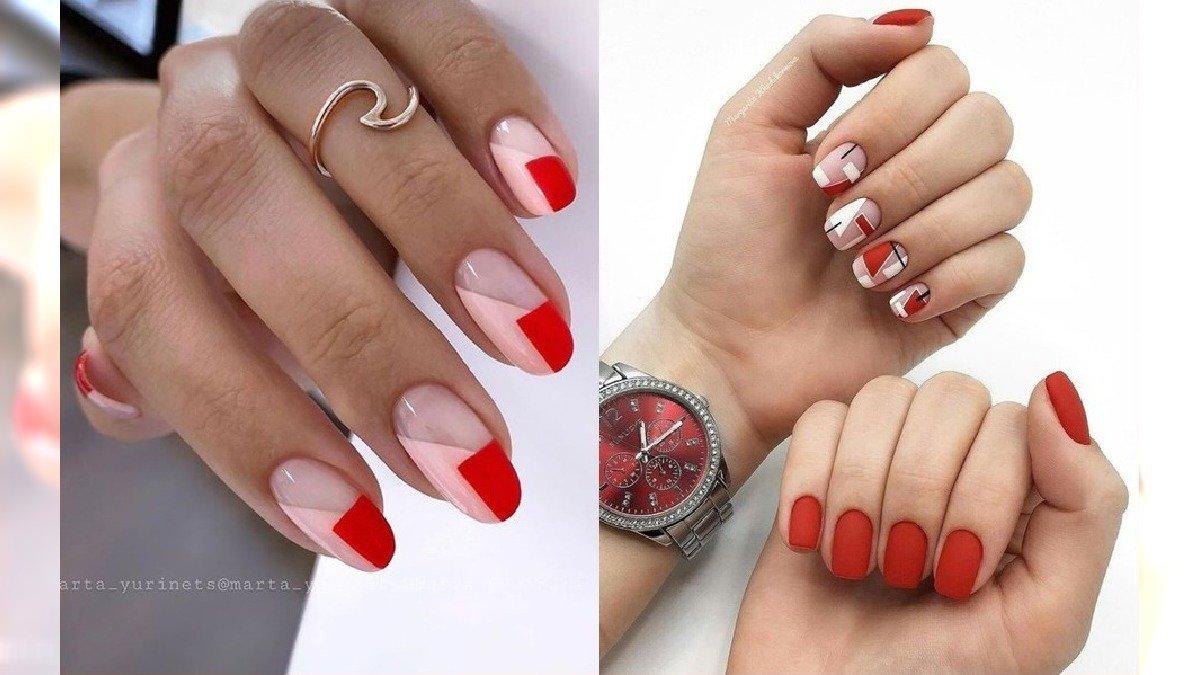 Czerwone paznokcie - 20 pomysłów na czerwony manicure w różnych wydaniach