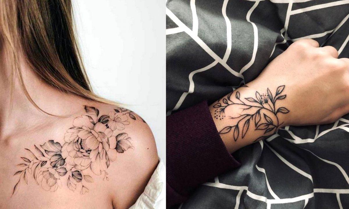 Tatuaże inspirowane naturą - 16 modnych wzorów