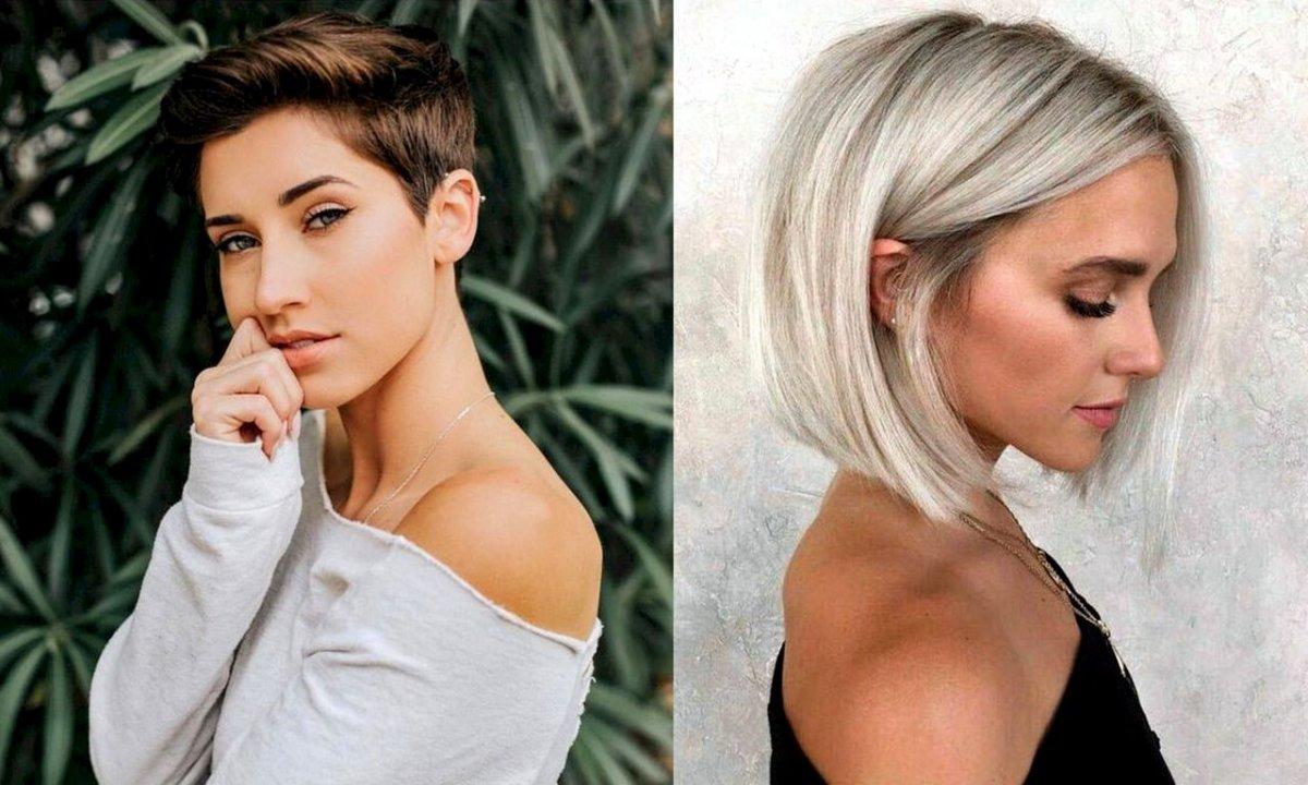 Krótkie i półkrótkie fryzury - 21 fryzjerskich trendów