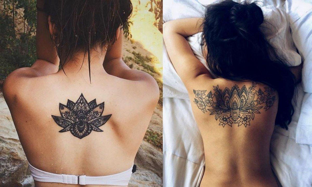 Tatuaże na plecy - 20 ślicznych projektów dla kobiet