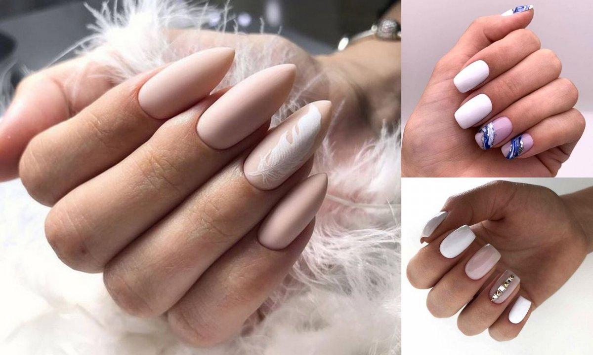 Jasny manicure - galeria najpiękniejszych propozycji, które skradną Twoje serce