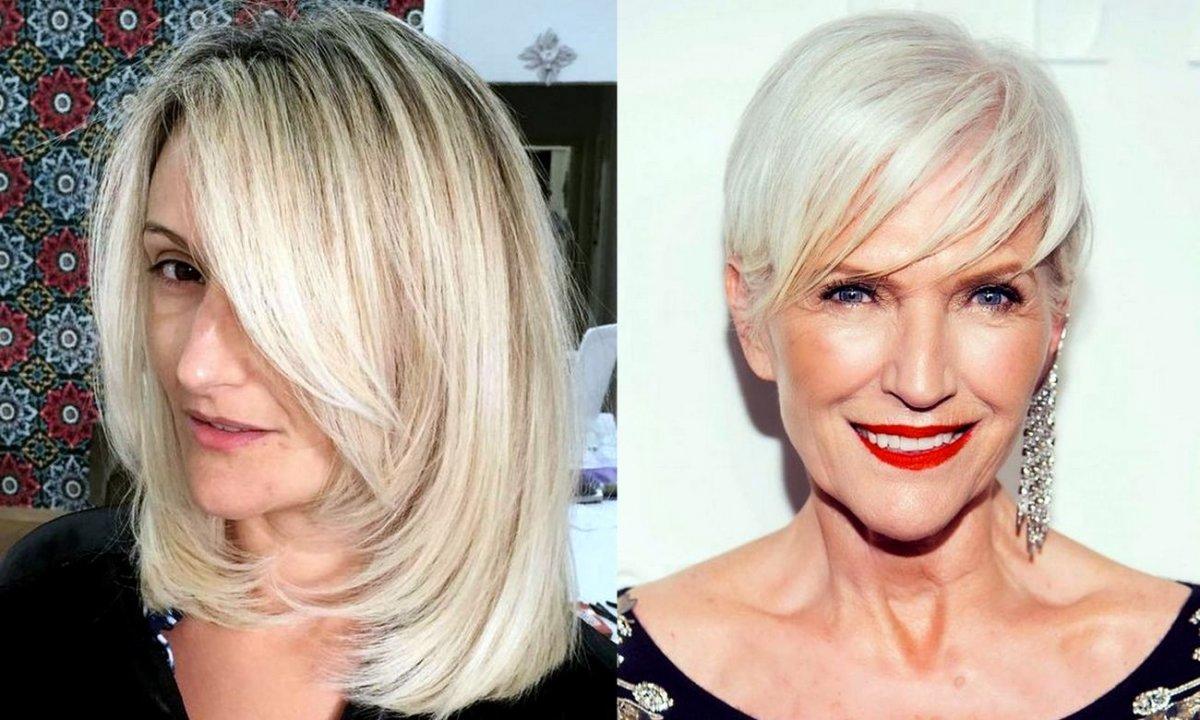 Modne fryzury dla 50-latki - stylowy katalog cięć