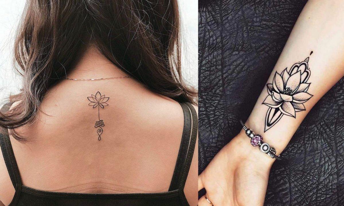 21 stylowych propozycji na tatuaż z kwiatem lotosu! [galeria]