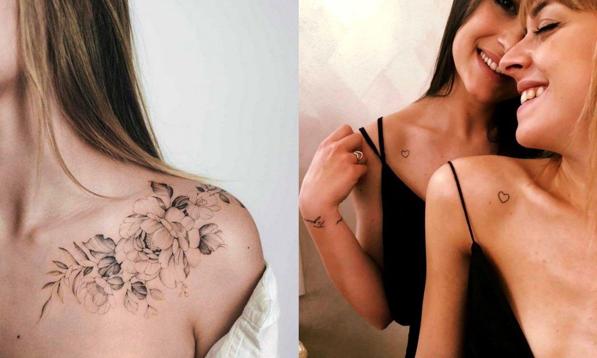 Tatuaże w okolicy ramienia - kilkanaście genialnych projektów