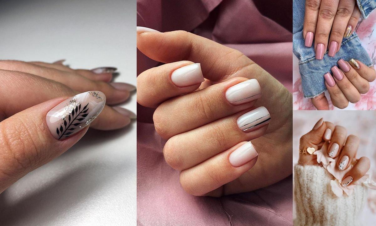 Nude manicure - 21 stylowych zdobień w odcieniach beżu