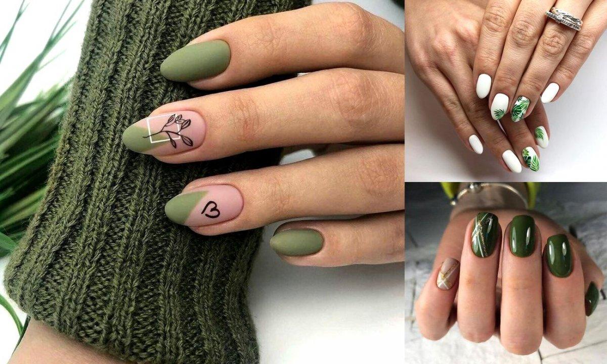 Zielony manicure - 25 stylizacji, które robią wrażenie