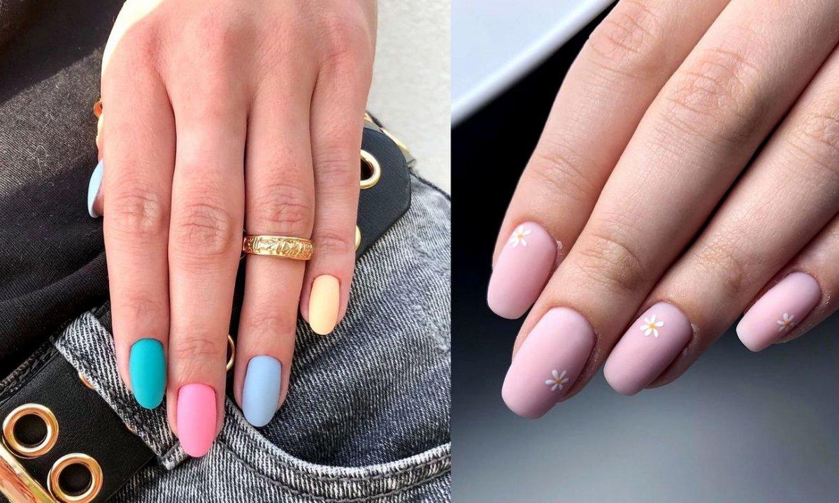 Matowy manicure - 21 najlepszych stylizacji z sieci