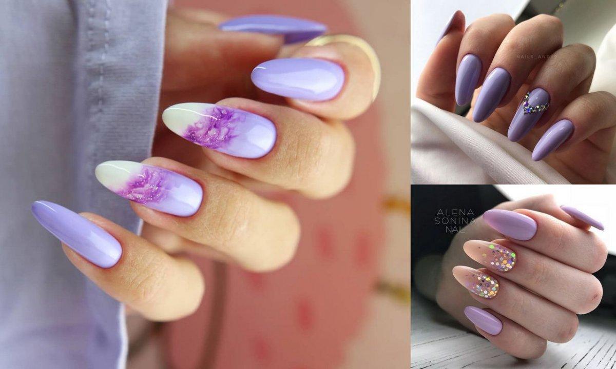 Fioletowy manicure hitem lata 2020 - galeria najpiękniejszych zdobień