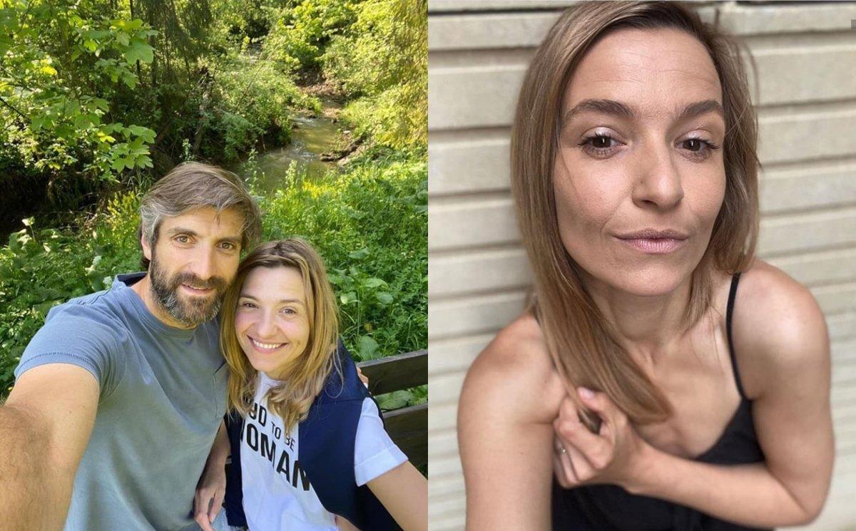 """Joanna Koroniewska cała w zmarszczkach na zdjęciu z mężem: """"Piękne staruszki"""". Aplikacja do postarzania dała radę?"""