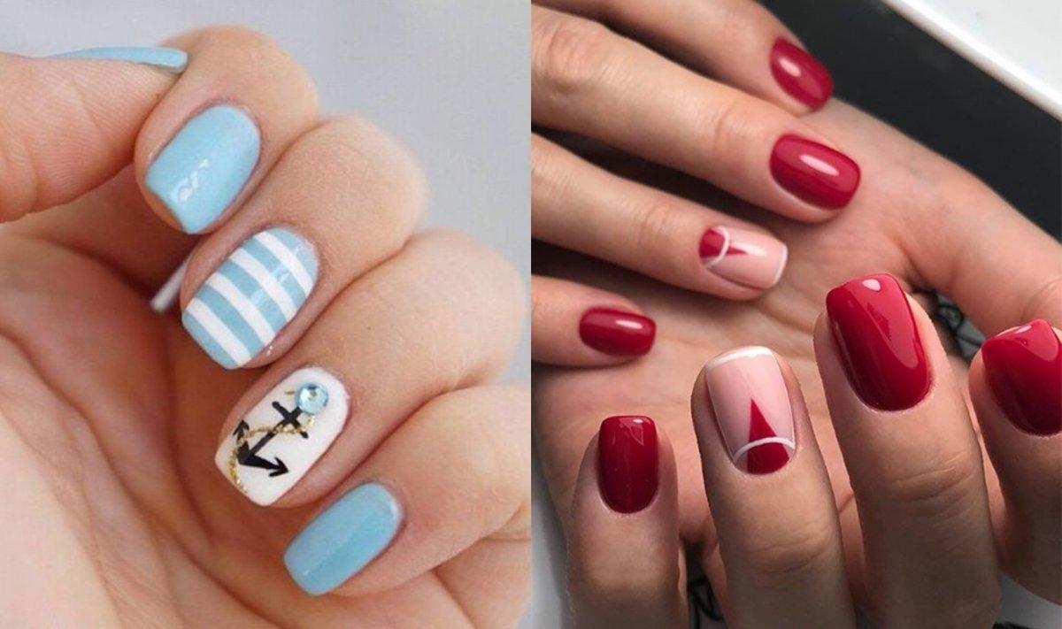 Krótkie paznokcie - 19 propozycji na uroczy manicure nie tylko na lato [GALERIA]