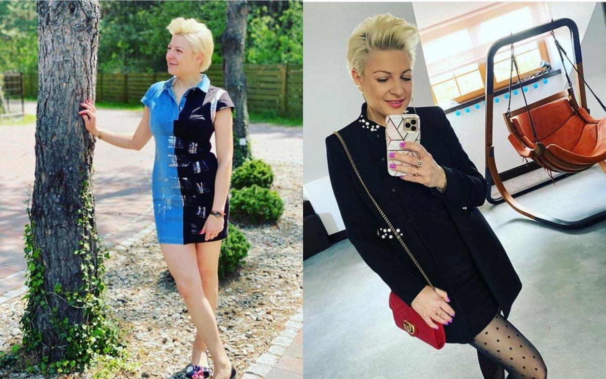 """Magda z """"Piękni i Młodzi"""" pokazała zdjęcie z komunii córki. """"Zainwestuj w stylistę, kiepska stylówka"""" - piszą fani. Są też pytania o ojca"""