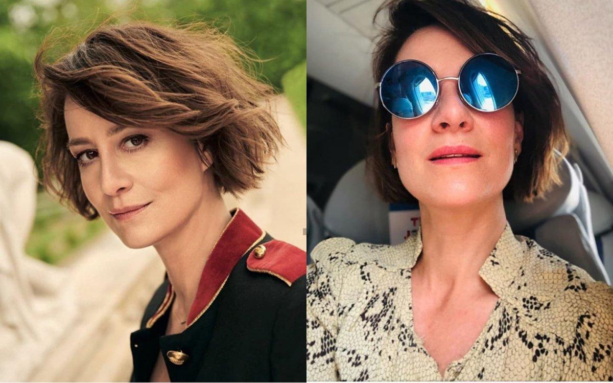 Maja Ostaszewska ma nową fryzurę. WOW! Z pazurem. I co za kolor - idealnie do niej pasuje