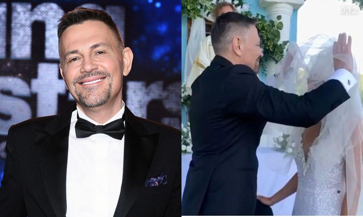 """Krzysztof Ibisz pokazał nowy romantyczny film ze ślubu! """"Wszystko w jej oczach"""""""