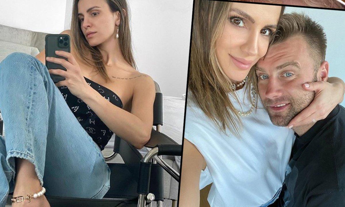 Sara Boruc chwali się wyrzeźbionym brzuchem po 3 ciążach i pokazuje synka w dresie za 2 tys. zł