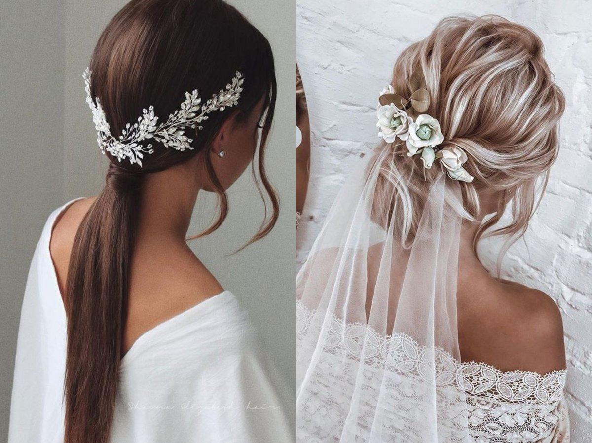 Ślubne fryzury - 25 pomysłów na niebanalne fryzury i upięcia dla panny młodej