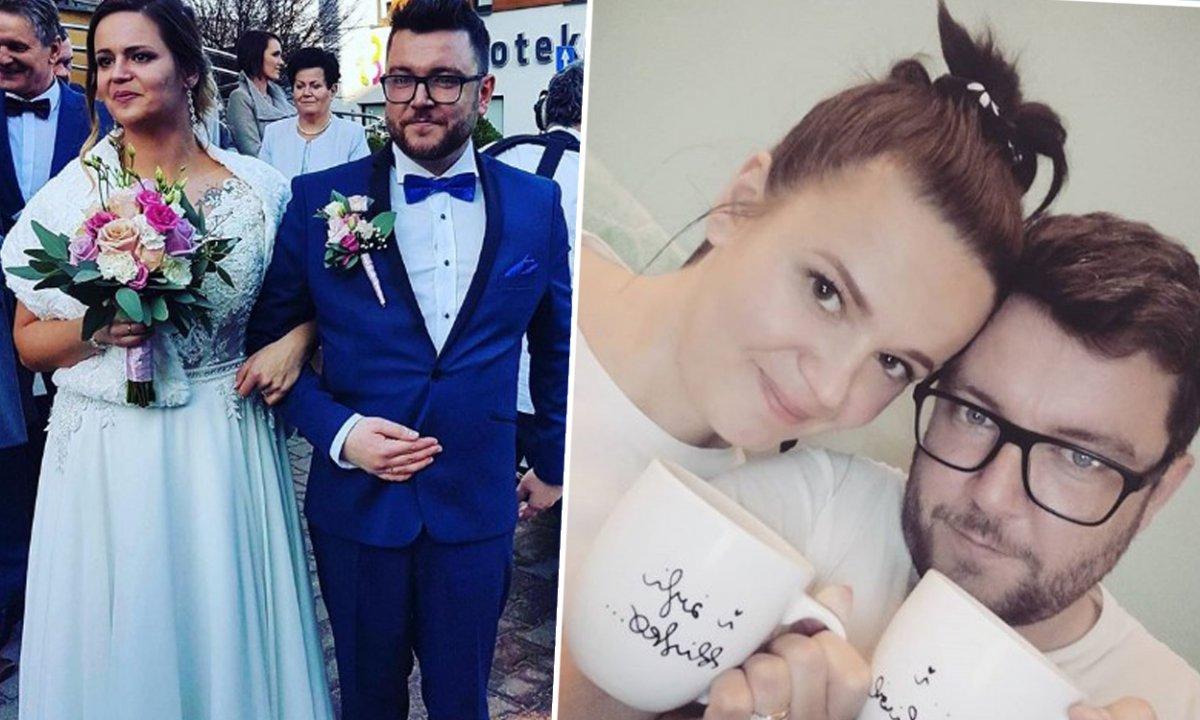 """Agnieszka i Wojtek ze """"Ślubu od pierwszego wejrzenia"""" pokazali osobiste zdjęcia z dzieciństwa"""