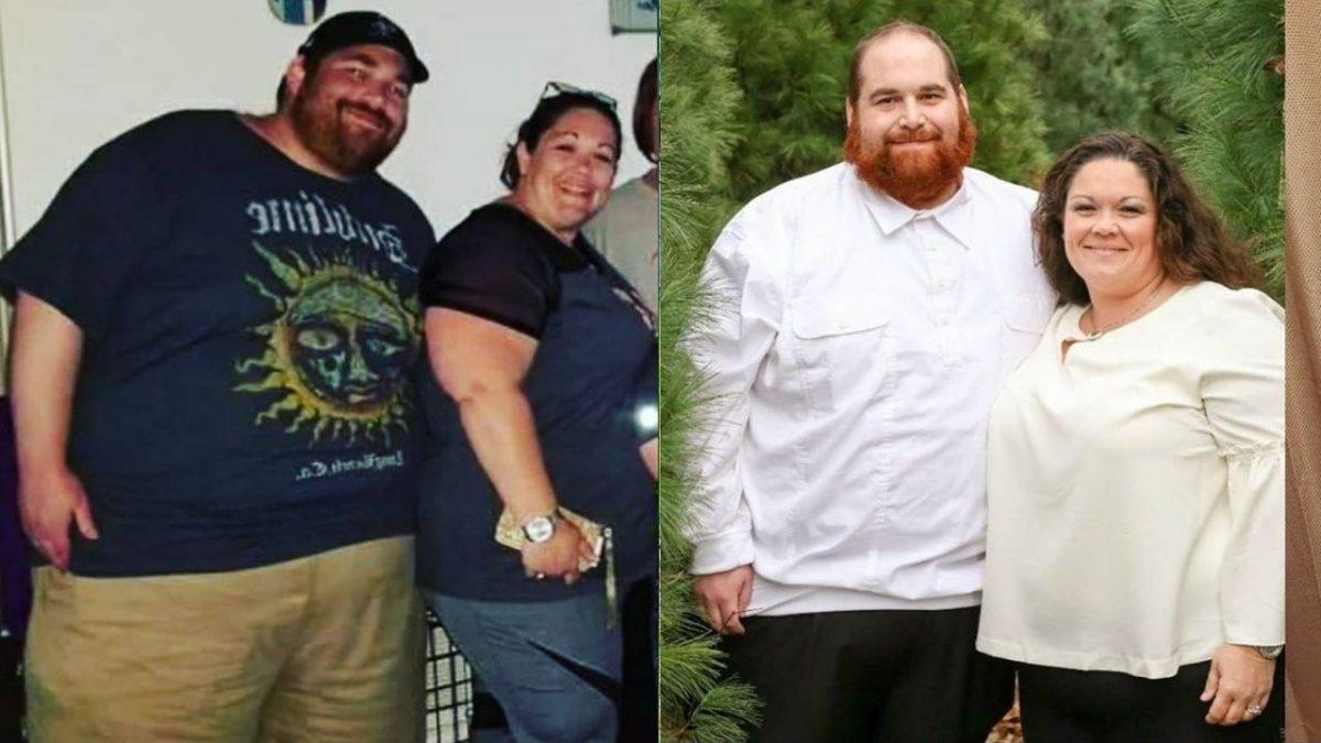 Para zawalczyła o zdrowie i przeszła niesamowitą metamorfozę. Razem zrzucili 150 kg