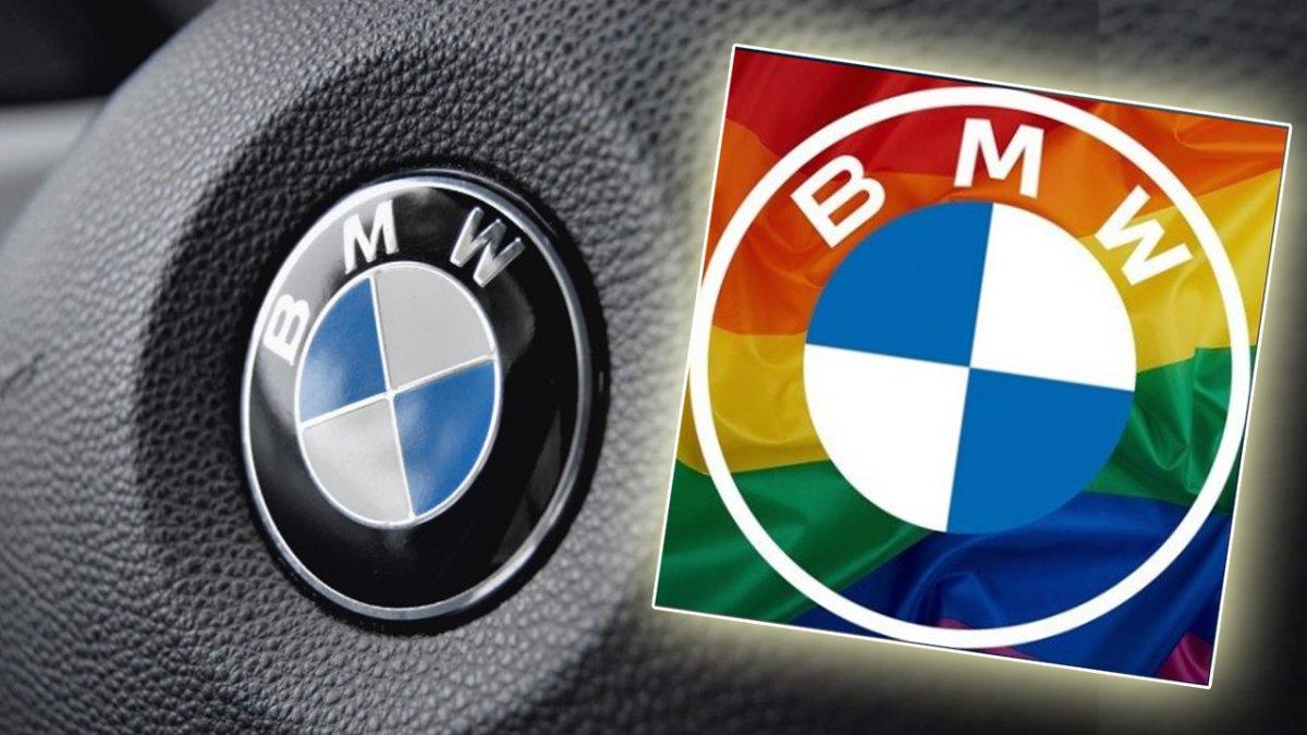 BMW dodało tęczowe logo, wspierając społeczność LGBT+. Ludzie zarzucili im hipokryzję