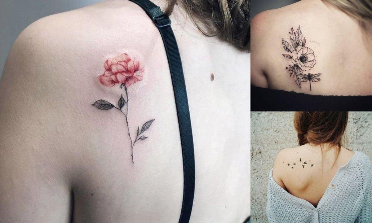 Tatuaże na łopatce - kilkanaście najpiękniejszych wzorów