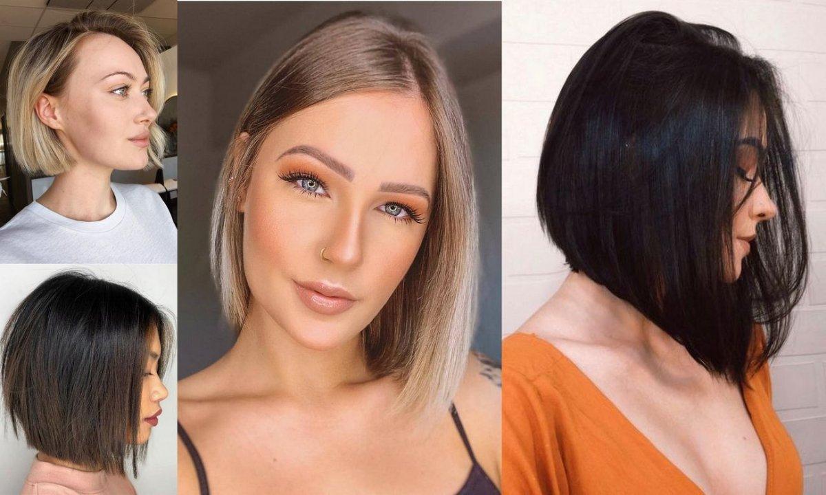 Fryzura bob 2020 - galeria gorących fryzjerskich trendów