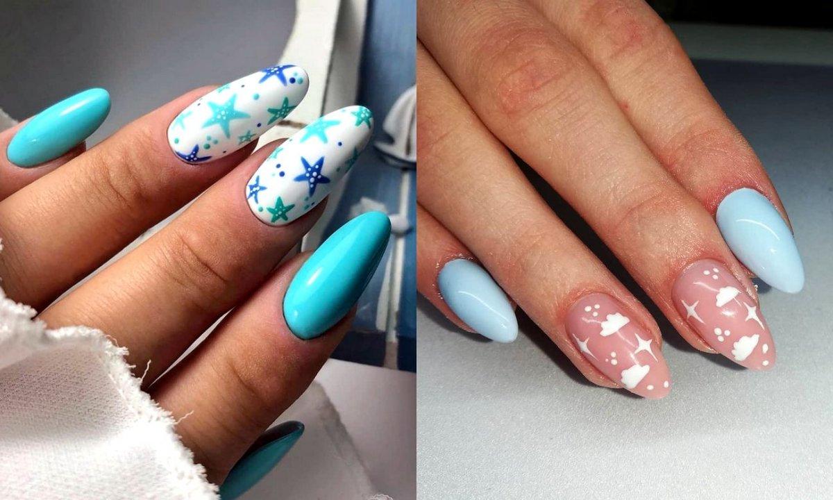 Niebieski manicure - 16 najlepszych propozycji z sieci