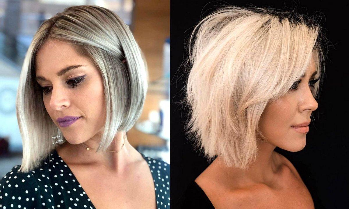 Włosy w pół szyi - katalog gorących trendów na lato 2020