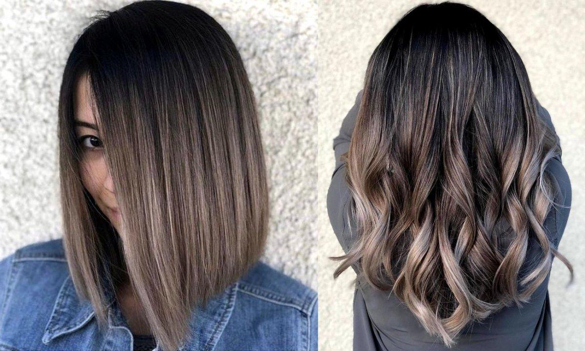 Popielaty brąz - 25 stylowych koloryzacji włosów