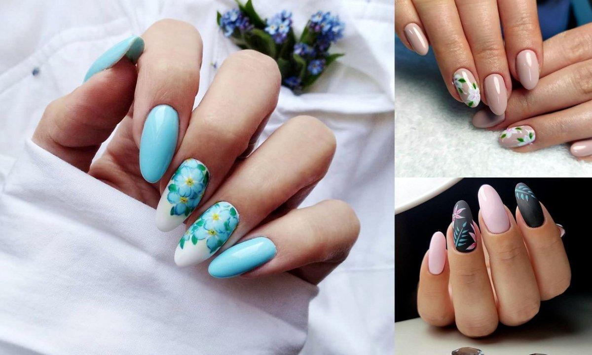 Kwiatowy manicure - 21 ślicznych stylizacji na lato