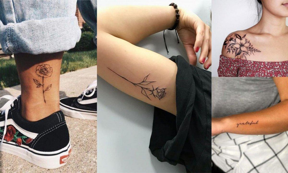 Tatuaże dla kobiet - galeria wyjątkowych wzorów