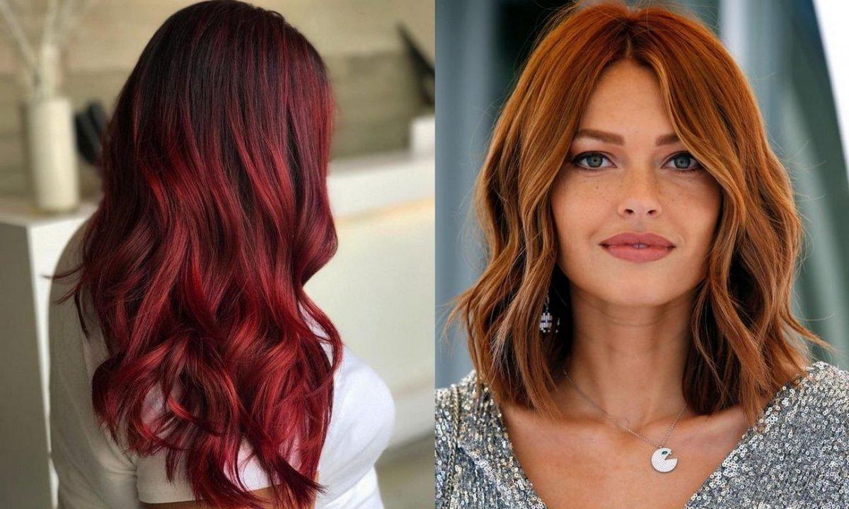 Koloryzacja włosów na lato 2020 - czerwienie i rudości w modnych odsłonach