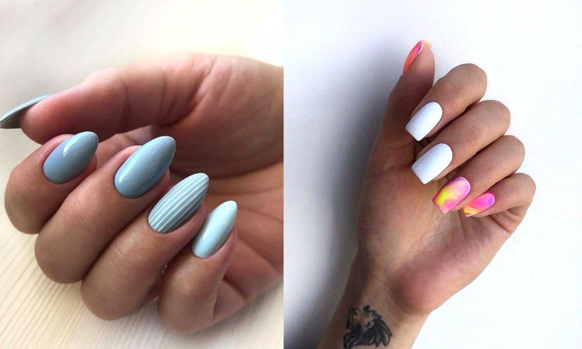 Jasny manicure - kilkanaście najpiękniejszych propozycji z sieci