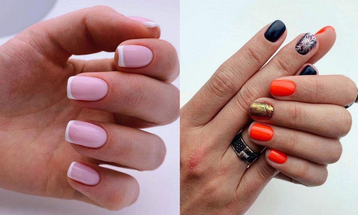 Letni manicure dla krótkich paznokci - 18 najlepszych stylizacji