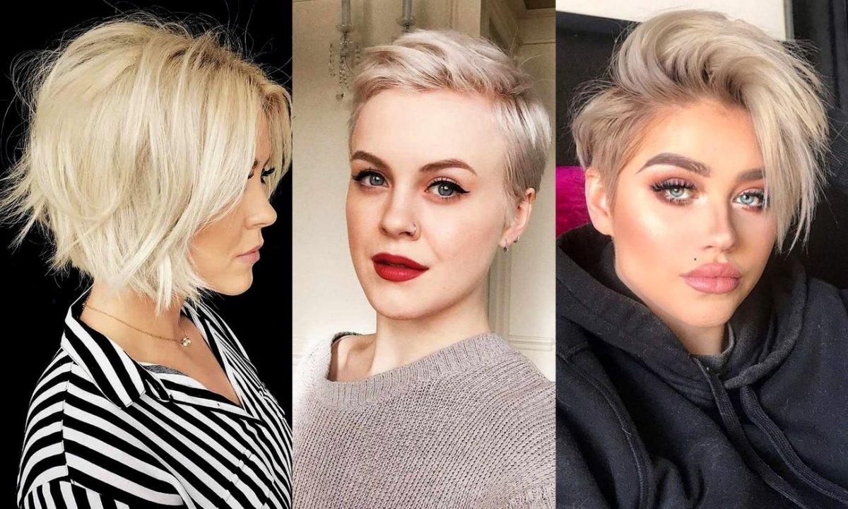 Krótkie blond fryzury na lato - 26 zjawiskowych cięć!