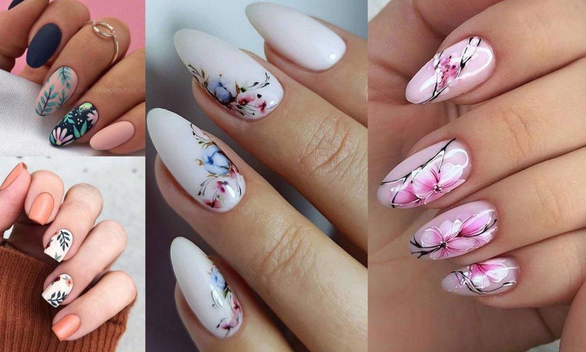 Manicure w kwiaty - 23 śliczne zdobienia, które robią mega wrażenie!
