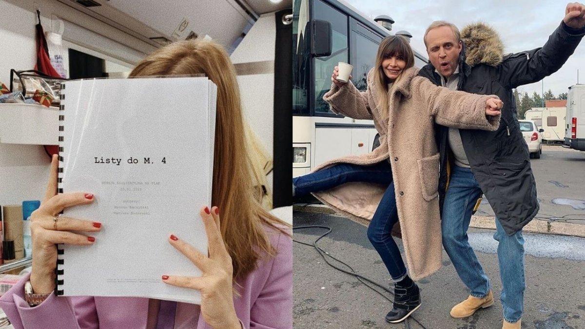"""Zdjęcia do """"Listów do M. 4"""" ponownie ruszyły. Premiera odbędzie się w terminie?"""