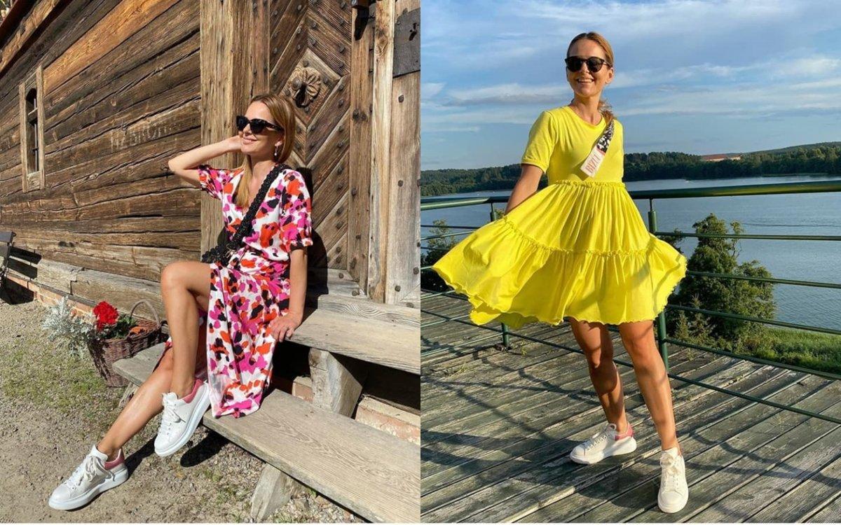 """Paulina Sykut prezentuje brzuch w bikini:""""Super ciałko, figura marzenie, przepiękna"""" - wychwalają fani"""