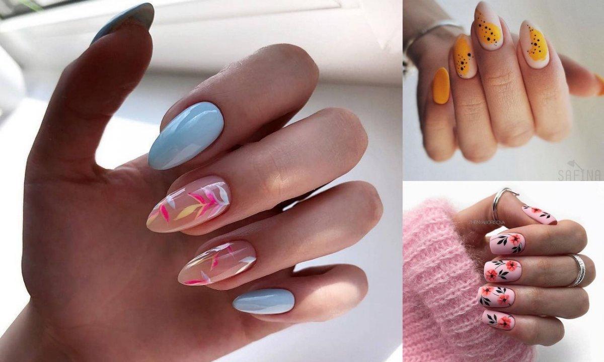 Manicure na lato i wakacje - galeria oryginalnych stylizacji