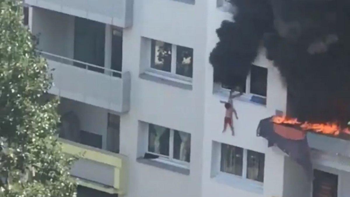 Jedyną drogą ucieczki dla dzieci był skok z 3. pięta. Film z pożaru bloku jest przerażający