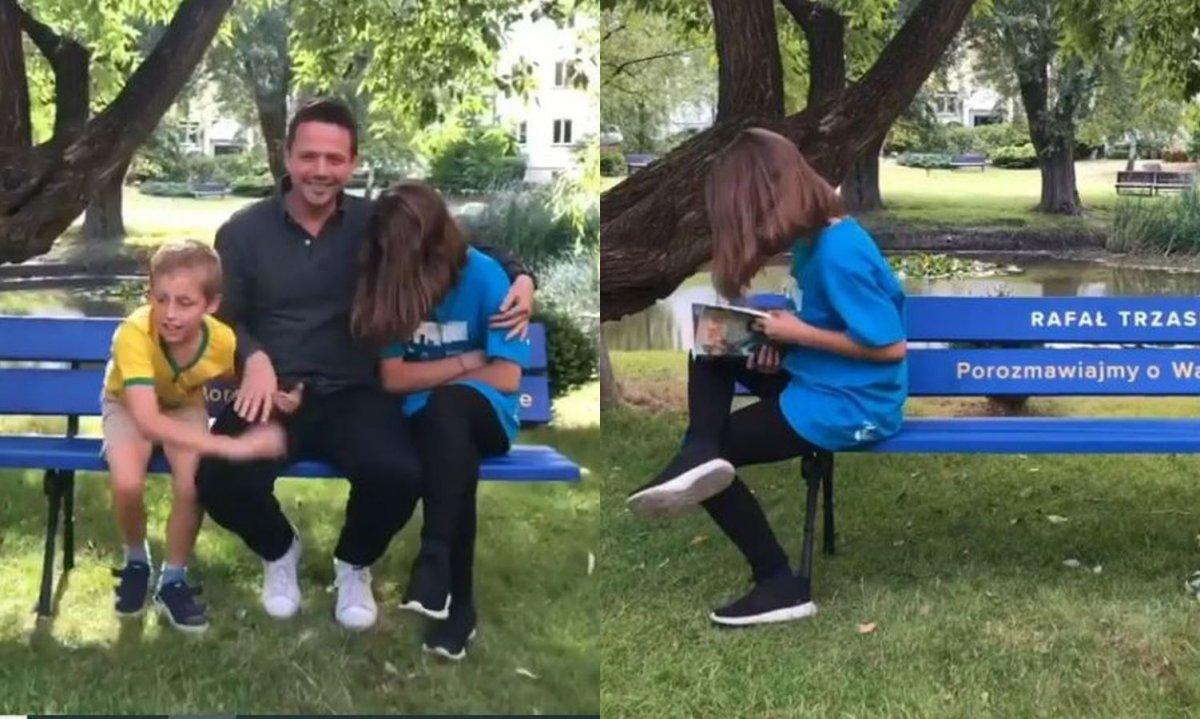 Córka Rafała Trzaskowskiego odsłoniła twarz! Wyjaśnił, dlaczego wcześniej ją zasłaniała