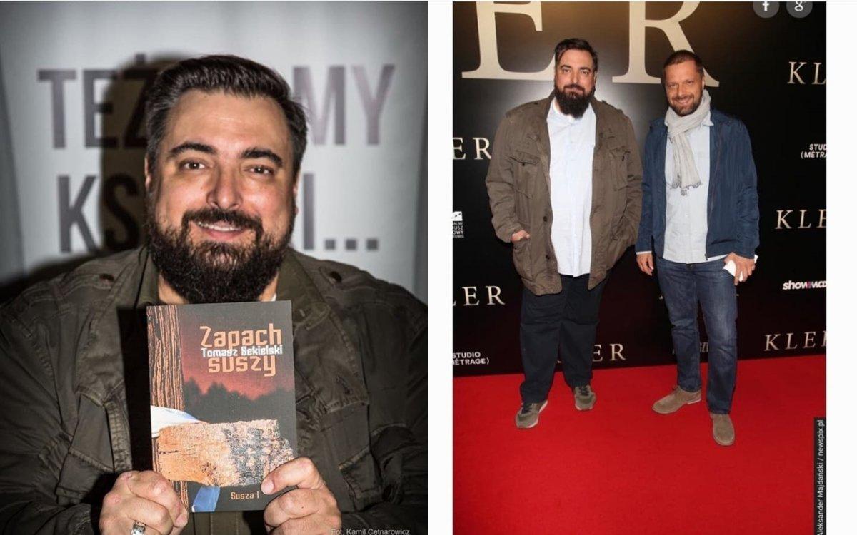 """Tomasz Sekielski schudł aż 70 kilo. Porażająca metamorfoza sprawiła, że trudno go teraz poznać: """"Dajesz chudzinko"""" - piszą fani"""