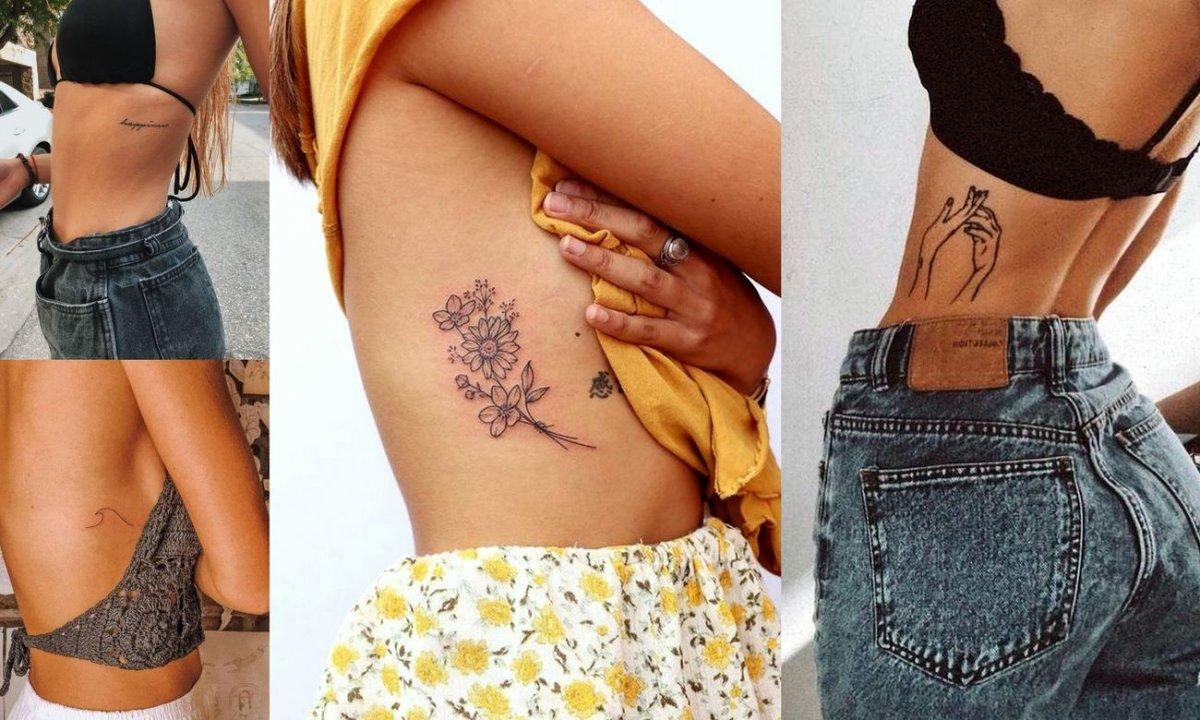 Tatuaże na żebrach - galeria najciekawszych wzorów dla kobiet