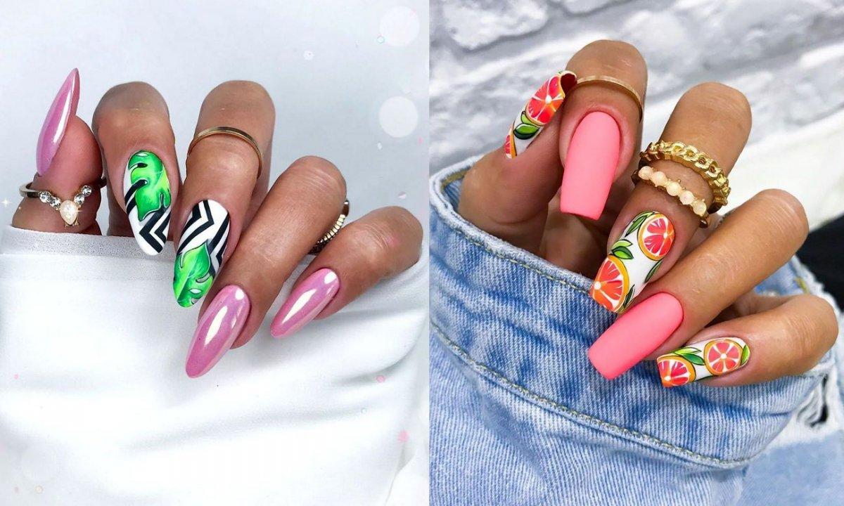 20 stylizacji manicure na lato - galeria najnowszych hitów z sieci