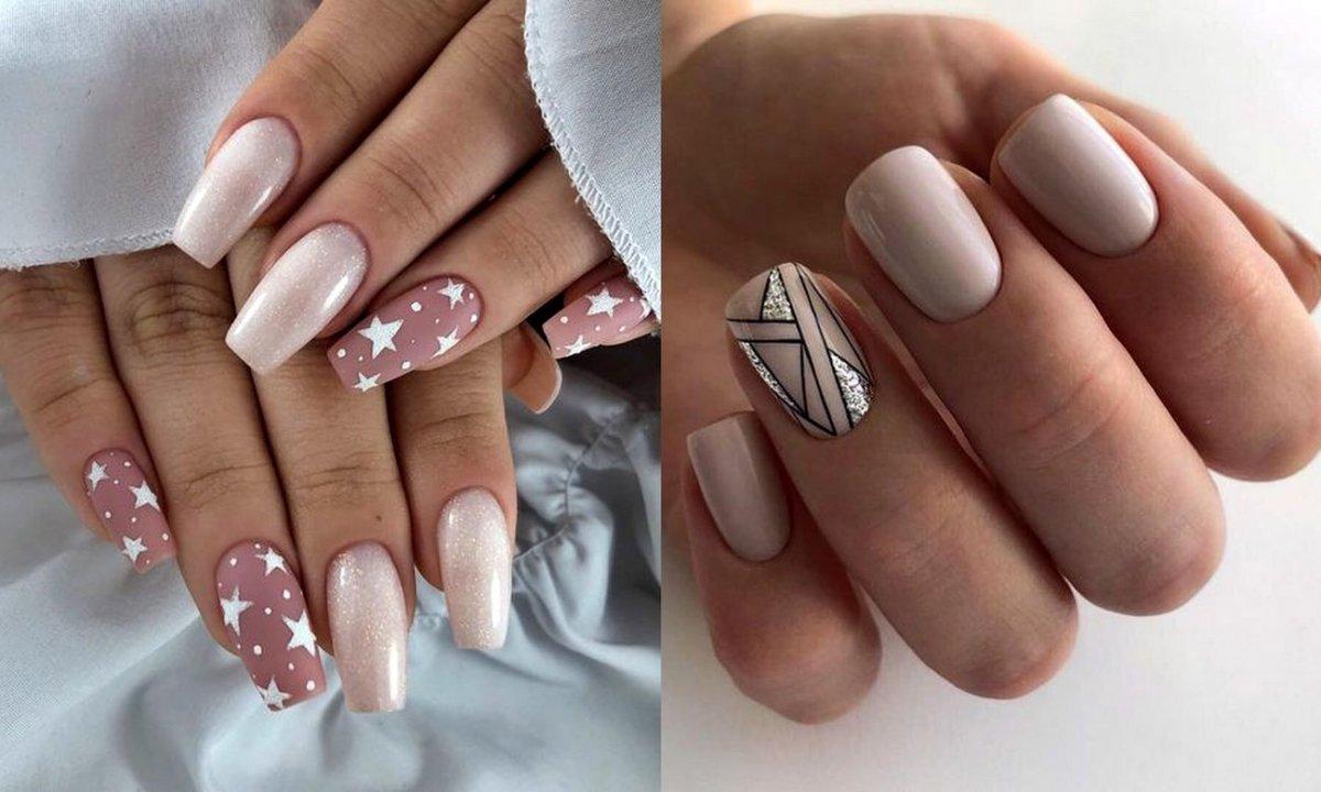 Nude manicure - 25 ślicznych i stylowych propozycji
