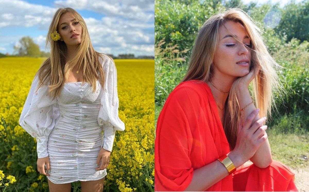 """Marcelina Zawadzka eksponuje biust i pupę w neonowym bikini: """"Zjawiskowa, tak wygląda idealna kobieta"""" - piszą fani"""