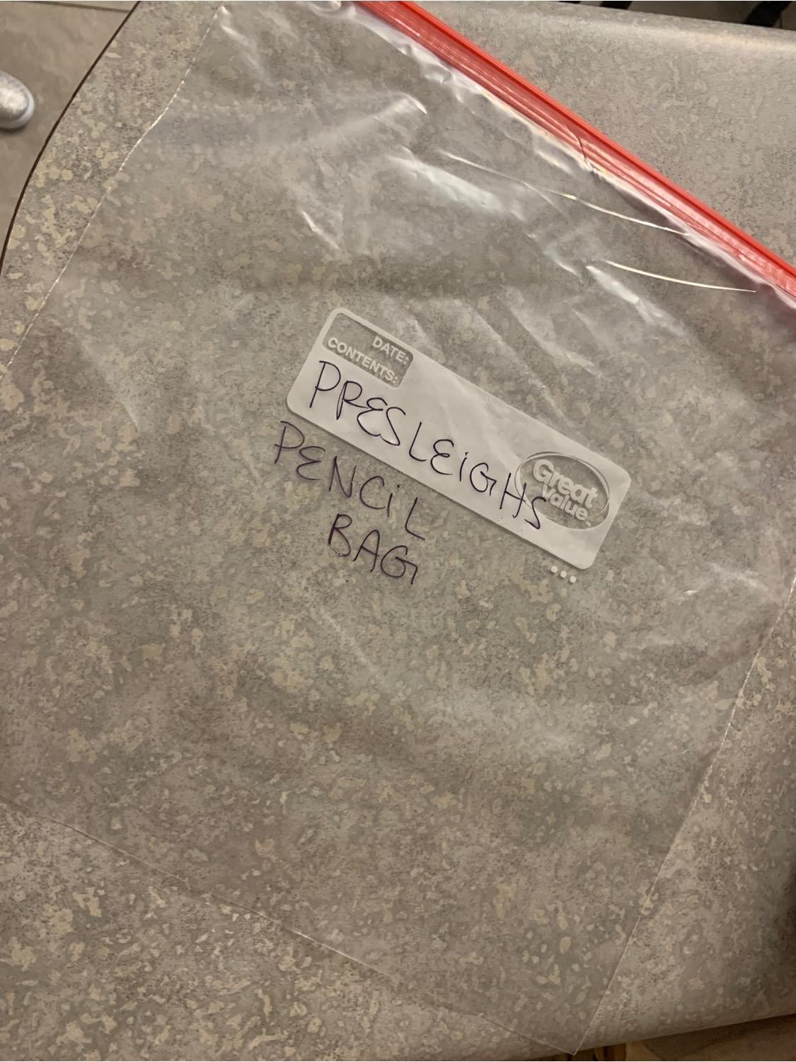 plastikowa torebka