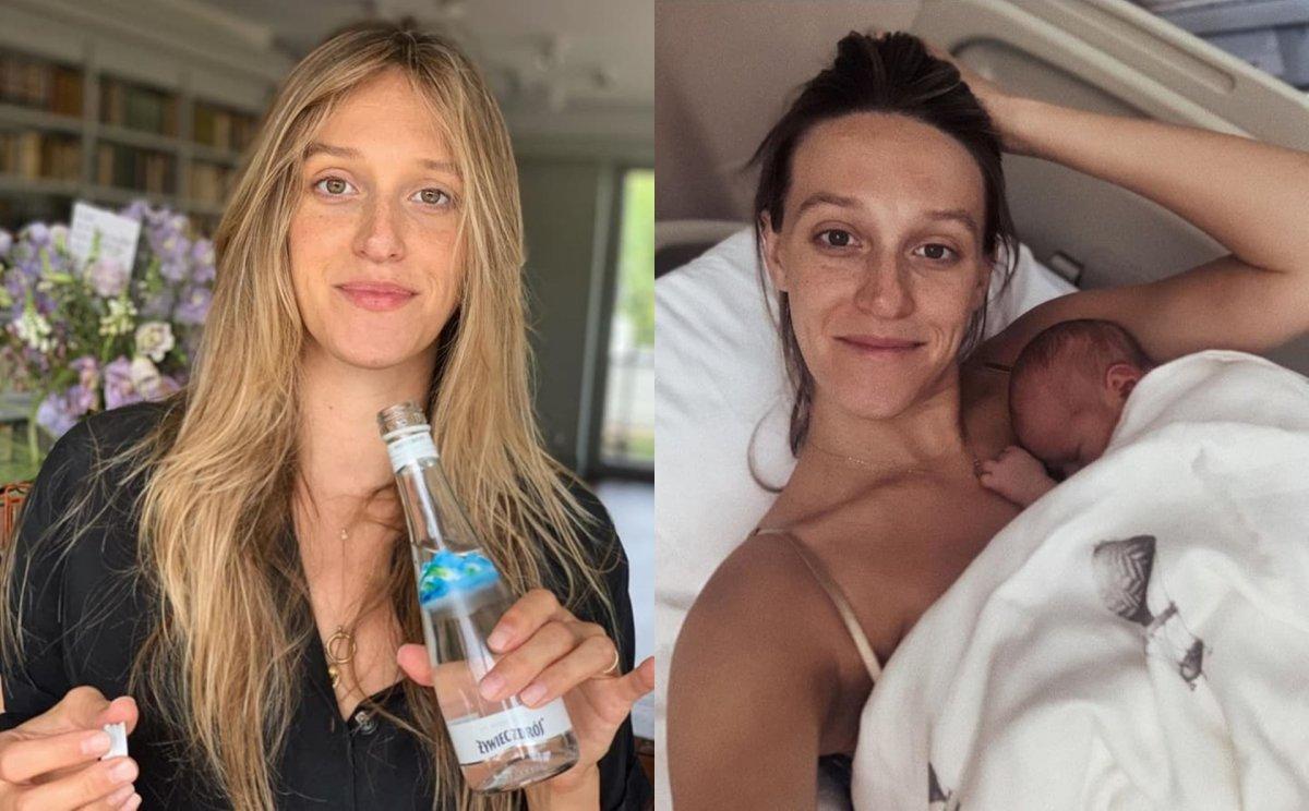 """Ola Żebrowska odważnie prezentuje ciało po porodzie: """"wspierajmy się w akceptowaniu rozstępów czy nadmiaru wagi"""". Jej wpis wywołał poruszenie"""