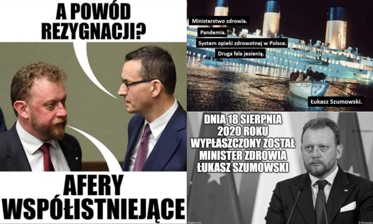 Łukasz Szumowski zrezygnował z funkcji ministra zdrowia i... został bohaterem memów! Zobacz najlepsze