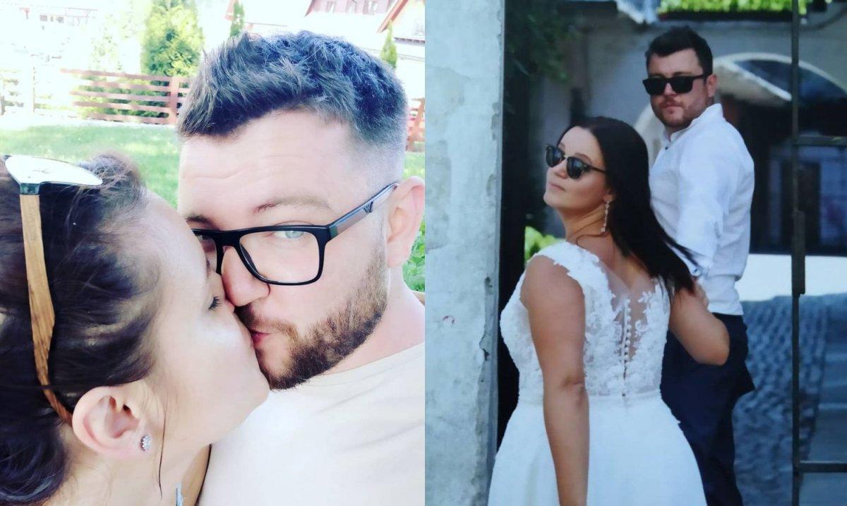 """Wojtek i Aga ze """"Ślubu od pierwszego wejrzenia"""" pokazali więcej niepublikowanych zdjęć z sesji ślubnej!"""