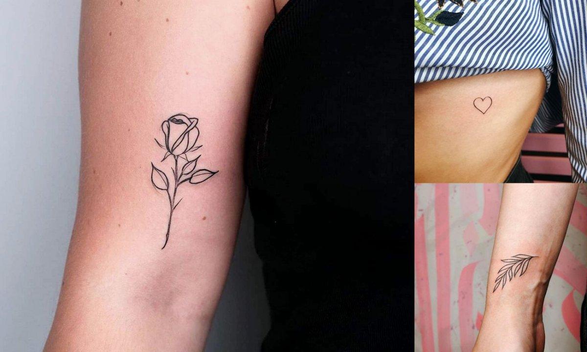 Małe tatuaże - galeria niesamowitych wzorów dla kobiet